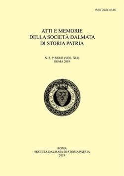 N. 8, 3ª S. (vol. XLI) (2019)